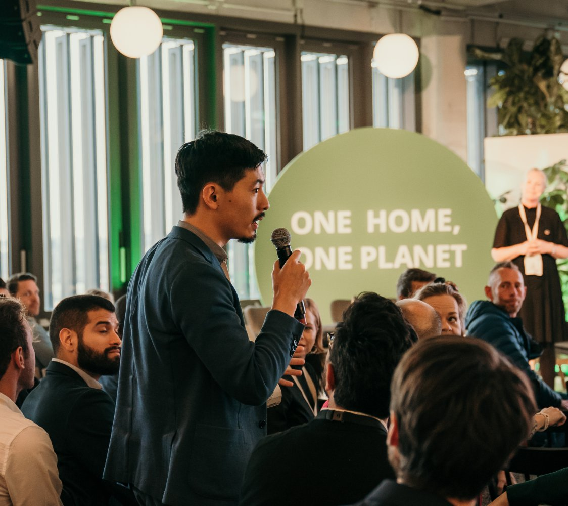 ONE HOME ONE PLANET event
